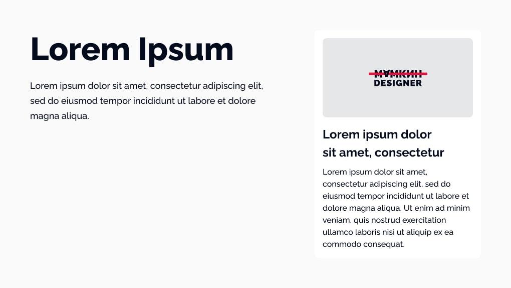 Lorem Ipsum – мамкин дизайнер